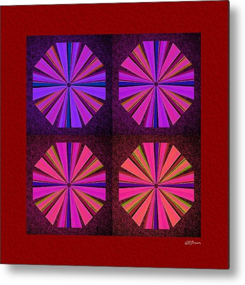 Colors Metal Print featuring the digital art Colors Of The Windmill by Greg Reed Brown