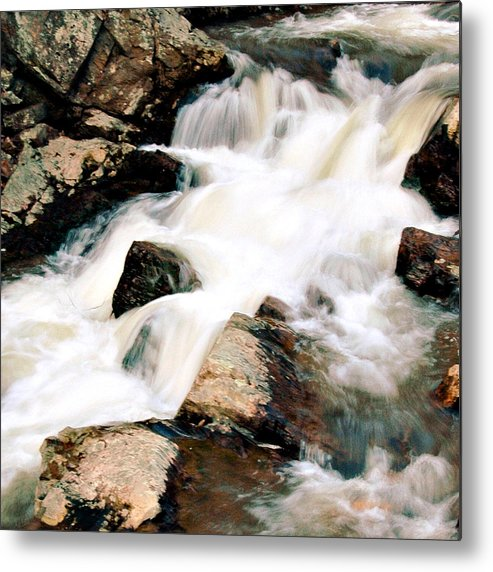 Cotton Metal Print featuring the photograph Cotton Waters by David Brown