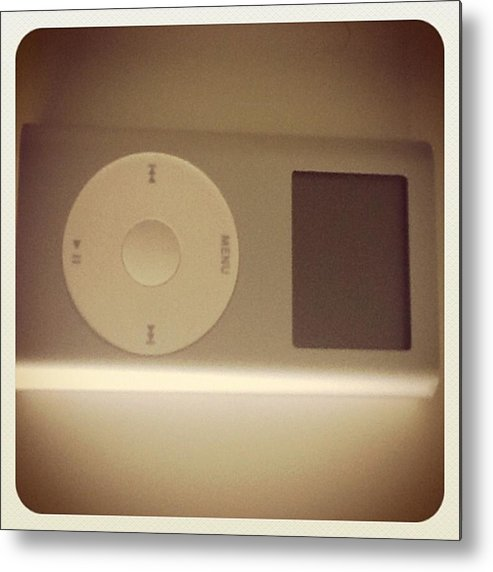 Metal Print featuring the photograph Cuantos Recuerdos! Mi Primer Ipod!! :') by Pablo Grippo