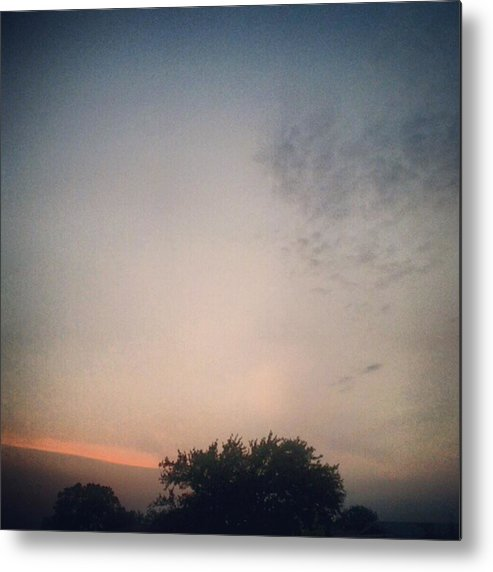Andrography Metal Print featuring the photograph Dusk... #andrography #nexuss #random by Kel Hill
