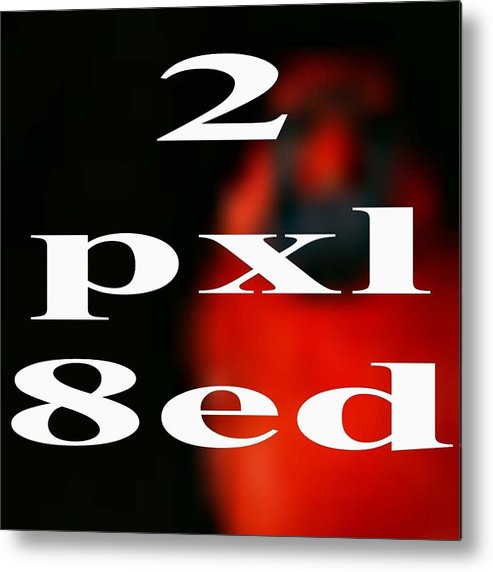 2pxl8ed Metal Print featuring the photograph Experimental by Gregory Scott