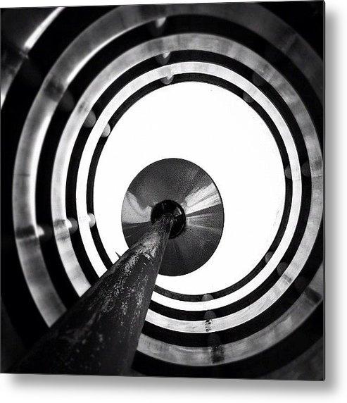 Blackandwhite Metal Print featuring the photograph Eye Balling - Concrete Jungle by Robbert Ter Weijden