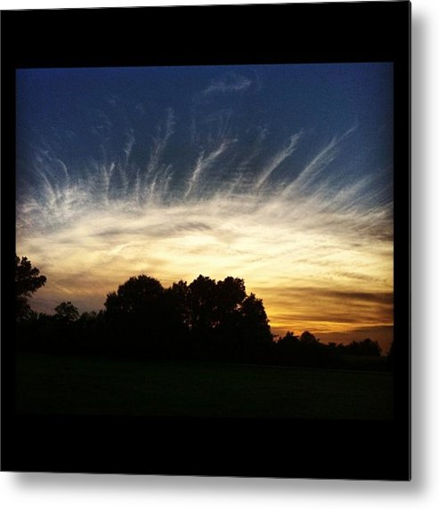 Metal Print featuring the photograph Eye In The Sky by Dana Coplin