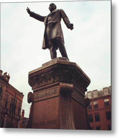 Metal Print featuring the photograph Gladstone, Hailing A Cab? by Chris Jones