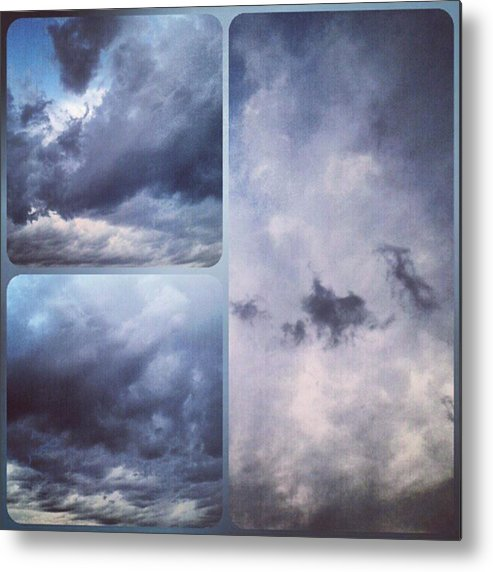 Andrography Metal Print featuring the photograph God Is The Ultimate Painter... #nature by Kel Hill
