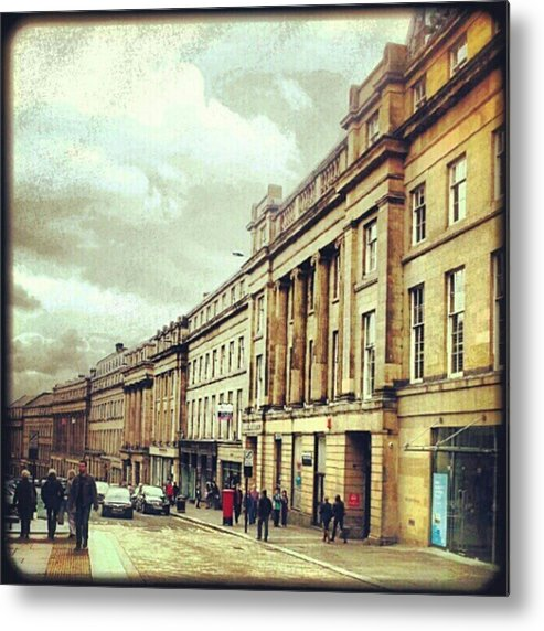 England Metal Print featuring the photograph Good Morning! #newcastle #greystreet by Neil Menday
