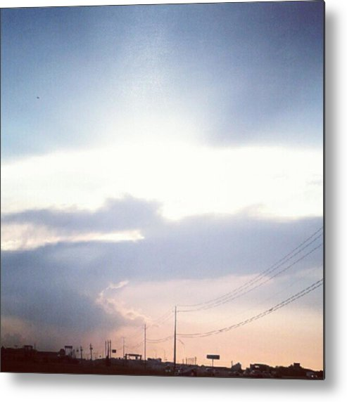 Good Metal Print featuring the photograph #good #morning #sunshine by Kel Hill
