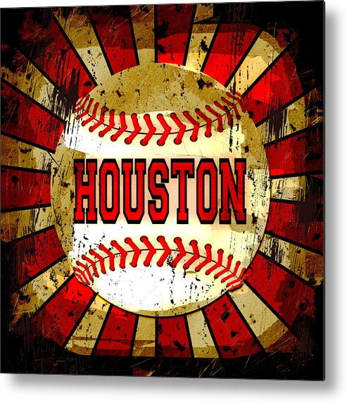 Houston Metal Print featuring the photograph Houston by David G Paul