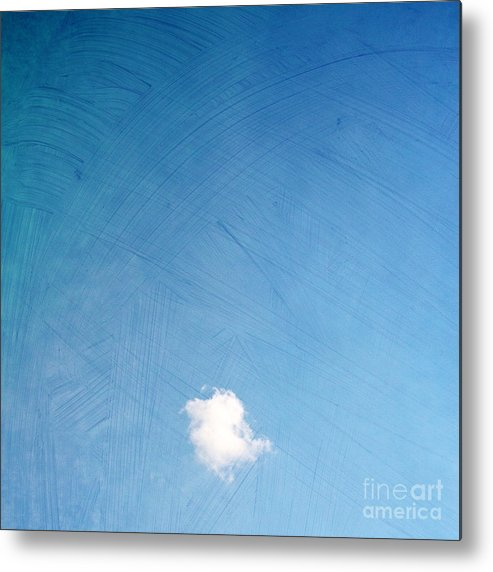 One Metal Print featuring the photograph I Am One II by Violet Gray
