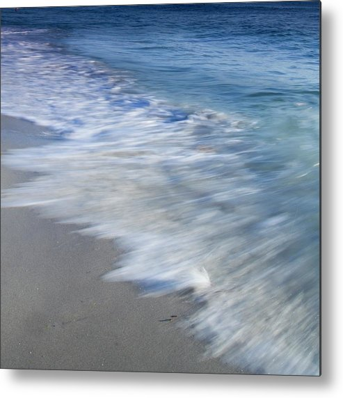 Waves Metal Print featuring the photograph Incoming by Ryan Weddle