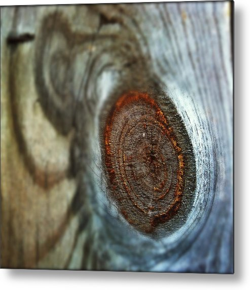 Knot Metal Print featuring the photograph Knotty by Gene Hilton