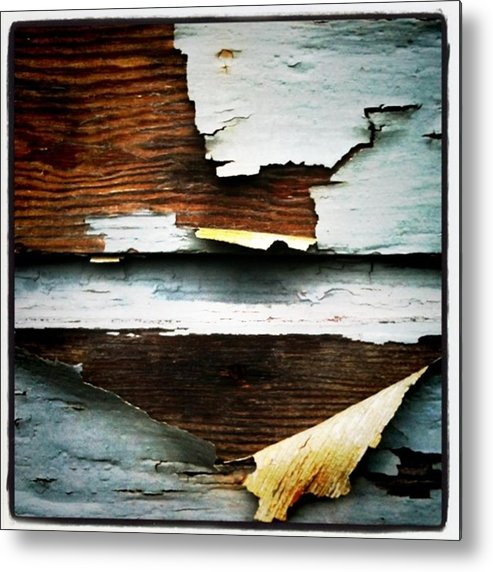 Paint Metal Print featuring the photograph Lead Paint by Ken Powers