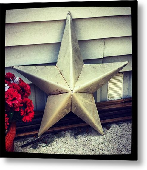 Metal Print featuring the photograph Lone Star Texas by Dana Coplin