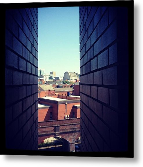 Metal Print featuring the photograph Manchester by Chris Jones