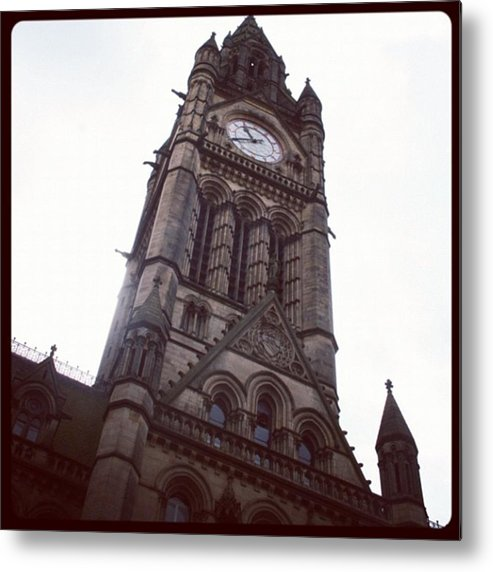 Metal Print featuring the photograph Manchester's Beautiful Town Hall by Chris Jones