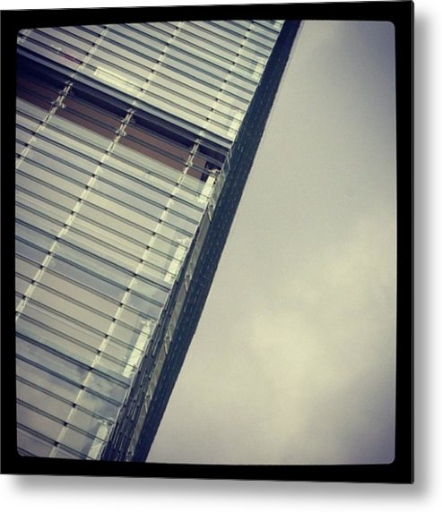 Metal Print featuring the photograph No. 1 Deansgate by Chris Jones