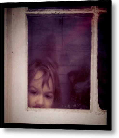 Little Metal Print featuring the photograph Peek A Boo by Ken Powers