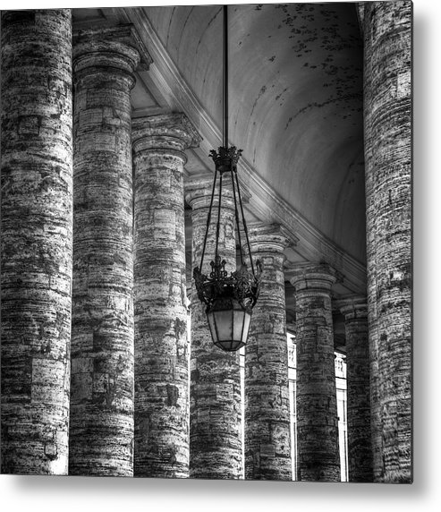 Columns Metal Print featuring the photograph Portico by Joana Kruse