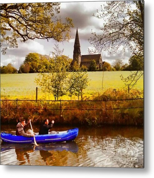Dinghy Metal Print featuring the photograph Sail Away by Isabella F Abbie Shores