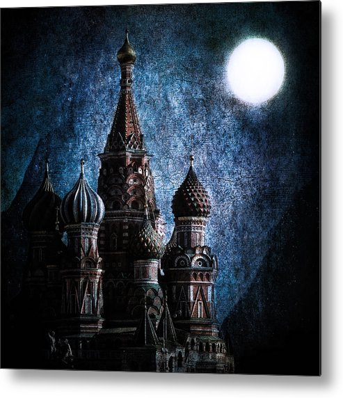 St Basils Metal Print featuring the photograph Solace by Andrew Paranavitana