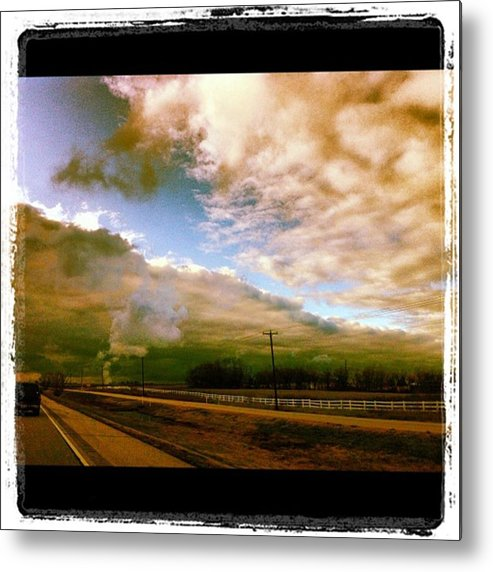 Metal Print featuring the photograph Storm Rolling In by Dana Coplin