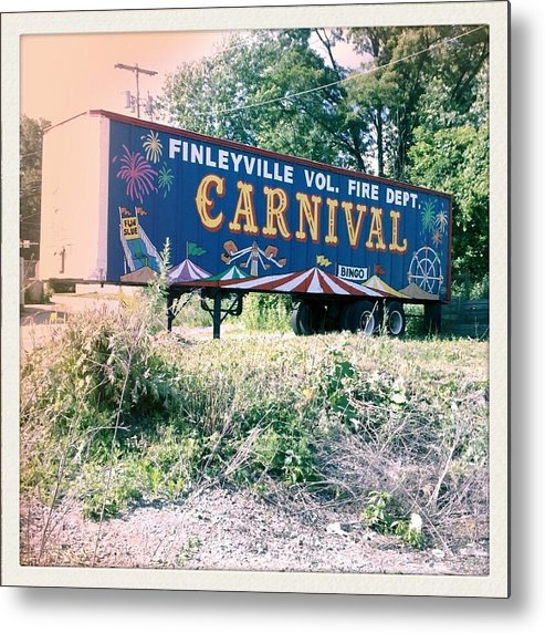 Carnival Metal Print featuring the photograph Summer Carney by Scott Conner