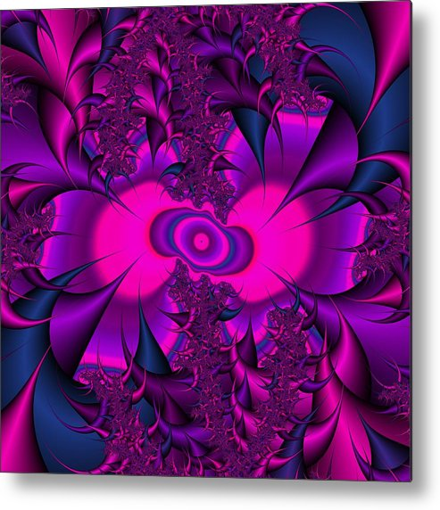 Thorns Metal Print featuring the digital art Thorned Pride by Christy Leigh
