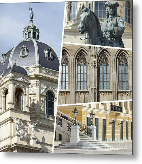 Vienna Metal Print featuring the photograph Collage Of Vienna by Mariusz Prusaczyk