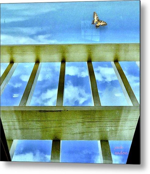 Sky Metal Print featuring the photograph kingdom of Sky by Jack Eadon