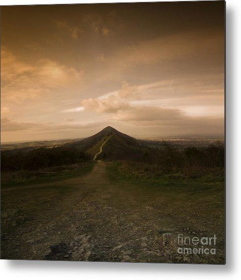 Hill Metal Print featuring the photograph The Malvern Hills by Angel Ciesniarska