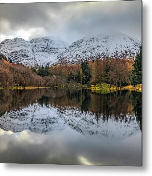 Torren Lochan Metal Print featuring the photograph Glencoe - Scotland by Joana Kruse