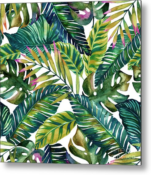 Summer Metal Print featuring the photograph Tropical by Mark Ashkenazi