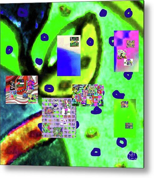 Walter Paul Bebirian Metal Print featuring the digital art 3-3-2016babcdefghijklmnop by Walter Paul Bebirian
