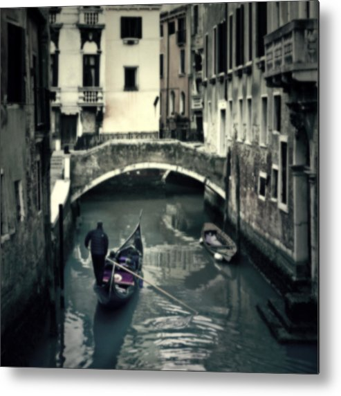 San Marco Metal Print featuring the photograph Venezia by Joana Kruse