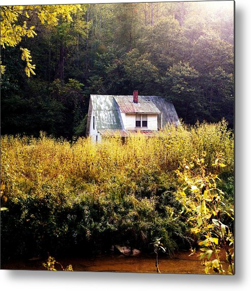 Farm Metal Print featuring the photograph Abandoned Farm Home by George Ferrell