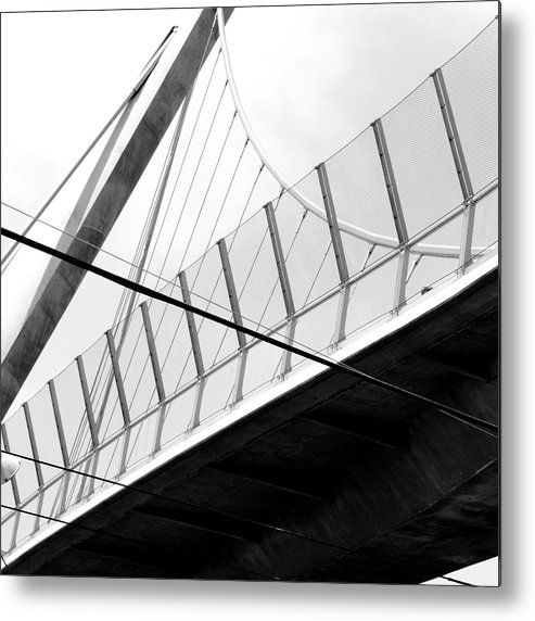 Angles Metal Print featuring the photograph An Arrow Or A Sail by Kreddible Trout