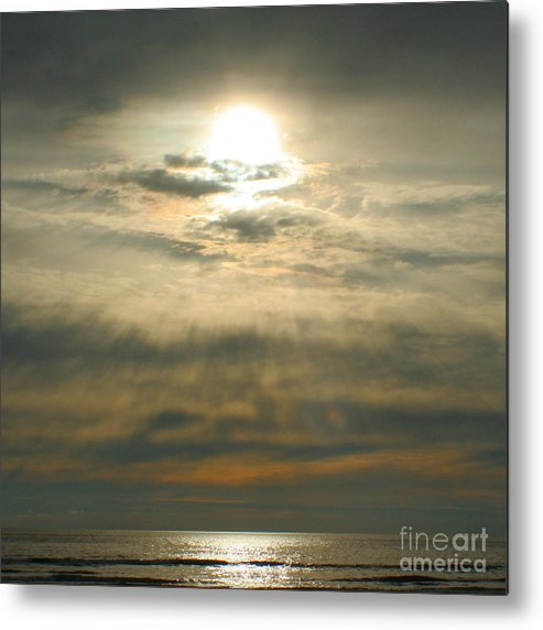 Sun Metal Print featuring the photograph Believe by Idaho Scenic Images Linda Lantzy