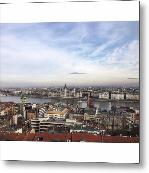 Metal Print featuring the photograph Budapest by Dora Talas