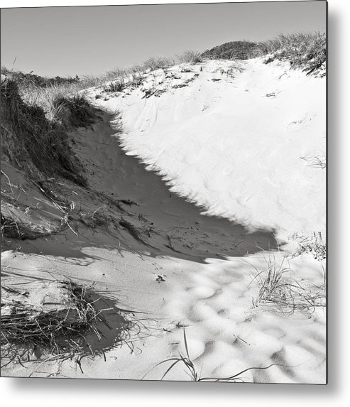 Sand Metal Print featuring the photograph Bw7 by Charles Harden