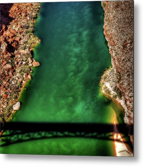Arizona Metal Print featuring the photograph Colorado River From The Navajo Bridge by Roger Passman