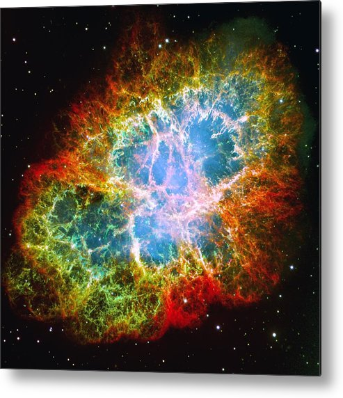 Astronomy Metal Print featuring the photograph Crab Nebula by Don Hammond