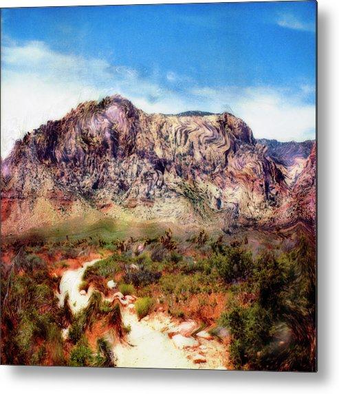 Paul Tokarski Metal Print featuring the photograph Desert Heat by Paul Tokarski
