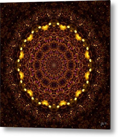 Kaleidoscope Metal Print featuring the photograph Digging For Treasure by Lori Kingston
