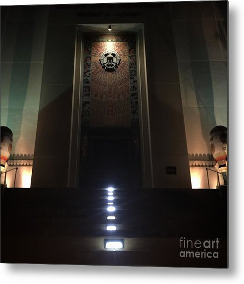 District Of Columbia Metal Print featuring the photograph District Of Columbia Scottish Rite by Jost Houk