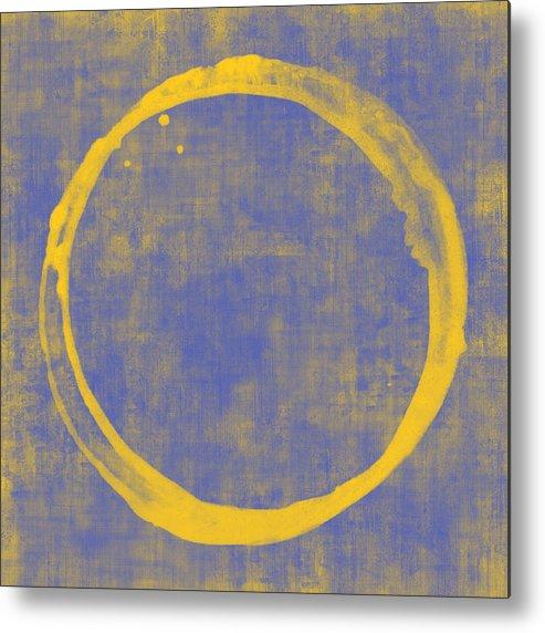 Circle Metal Print featuring the painting Enso 1 by Julie Niemela