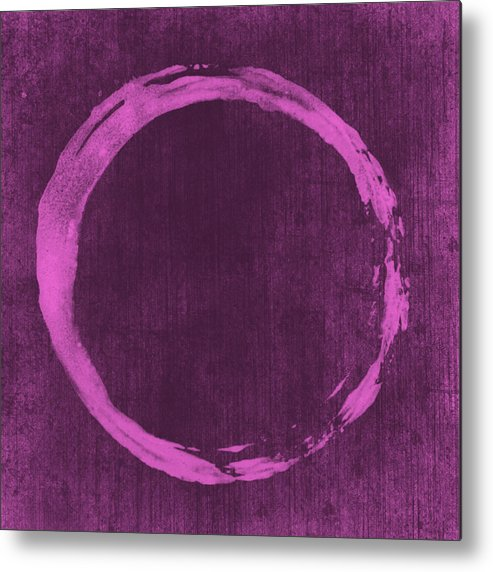 Enso Metal Print featuring the painting Enso 4 by Julie Niemela