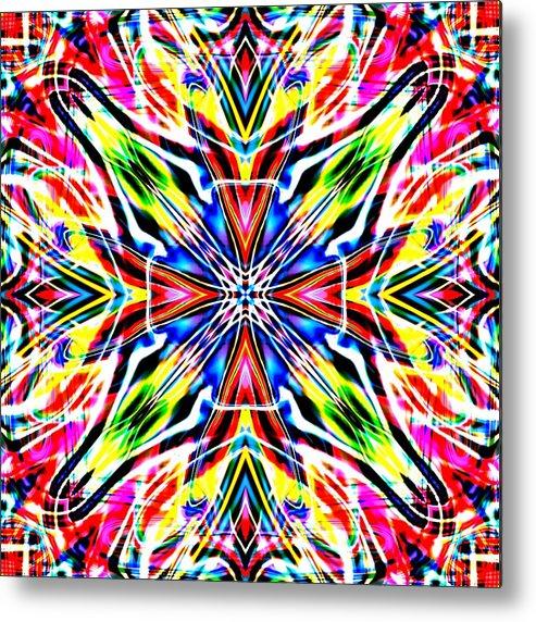Art Metal Print featuring the digital art Ferelas by Blind Ape Art