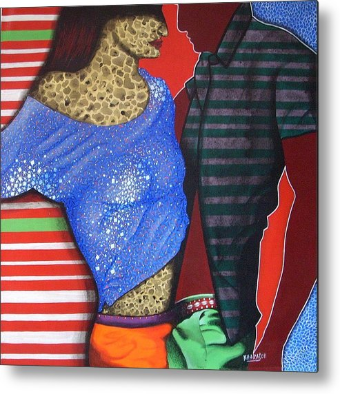 Fantacy Metal Print featuring the painting Floating Fantacy 44 by Bharat Gothwal