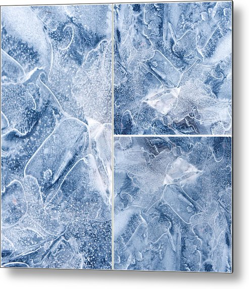 Frostwork ...2584 Metal Print featuring the photograph Frostwork ...2584 by Tom Druin