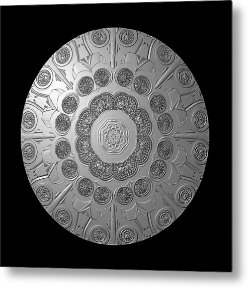 Shield Metal Print featuring the photograph Graphic Number Two by Roger Soule